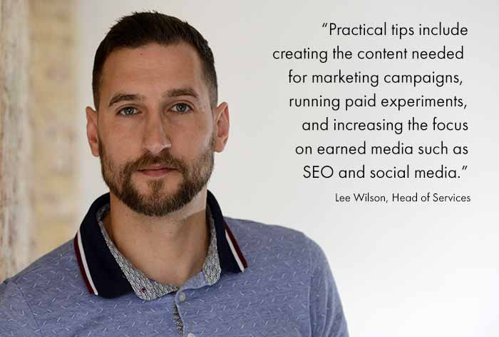 Quote from Lee wilson giving practical tips on what to do