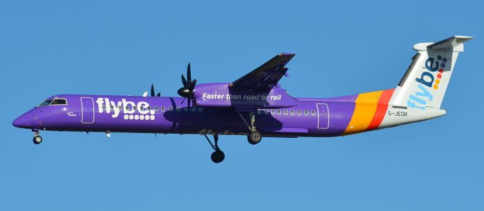 FlyBe plane