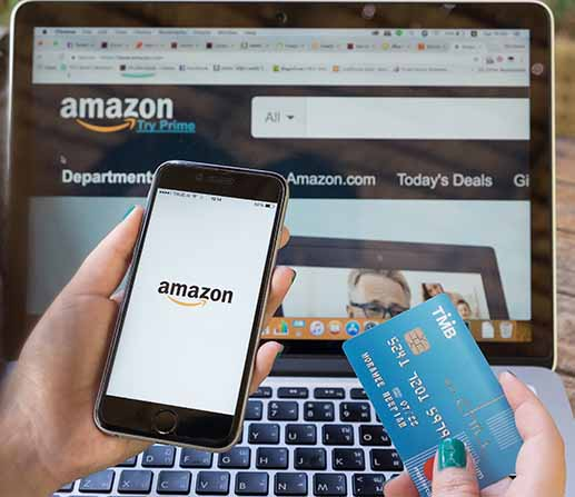 Buying online from Amazon