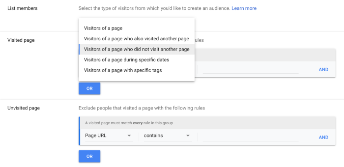 Onsite actions in Google Analytics