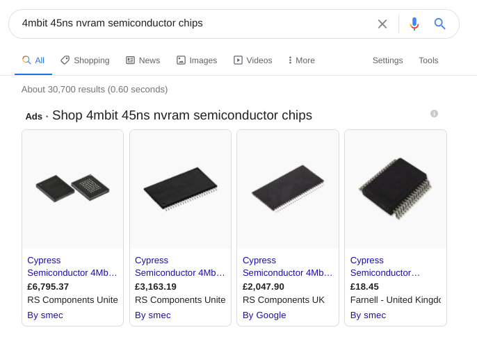 B2B-ecommerce-google-search-microchips
