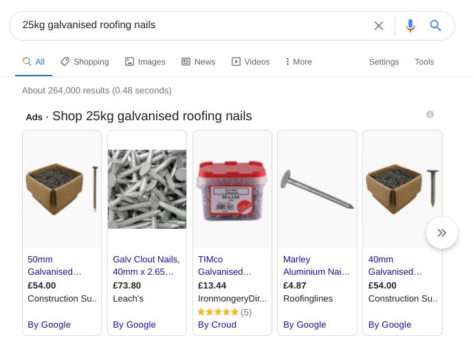 B2B-ecommerce-google-search-nails