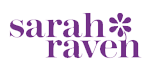 Sarah Raven coloured logo