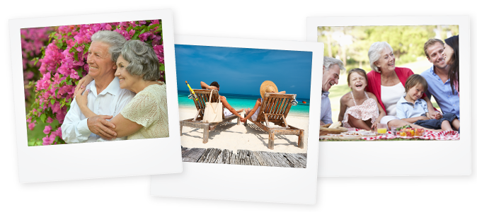 Free Spirit content and SEO case study image showing holiday photos