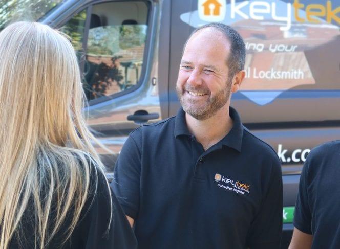 Keytek PPC case study image showing Keytek employee