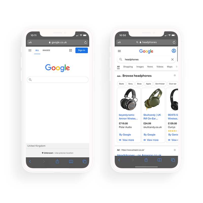 Get found in mobile searches