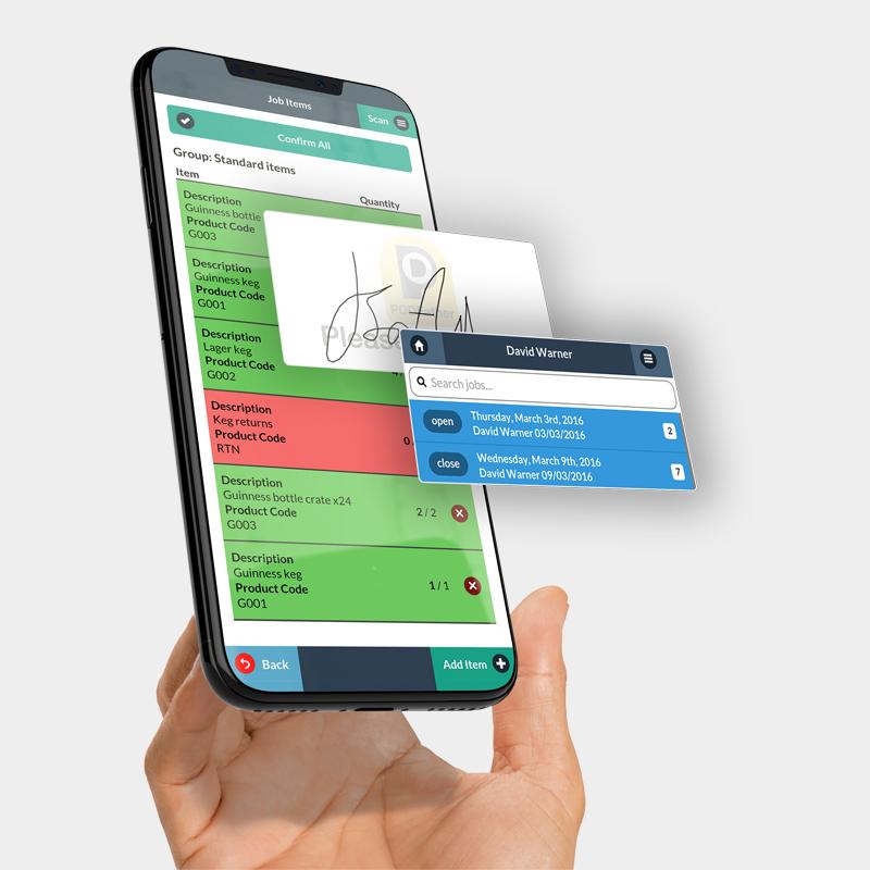 PodFather website design case study showing their website app