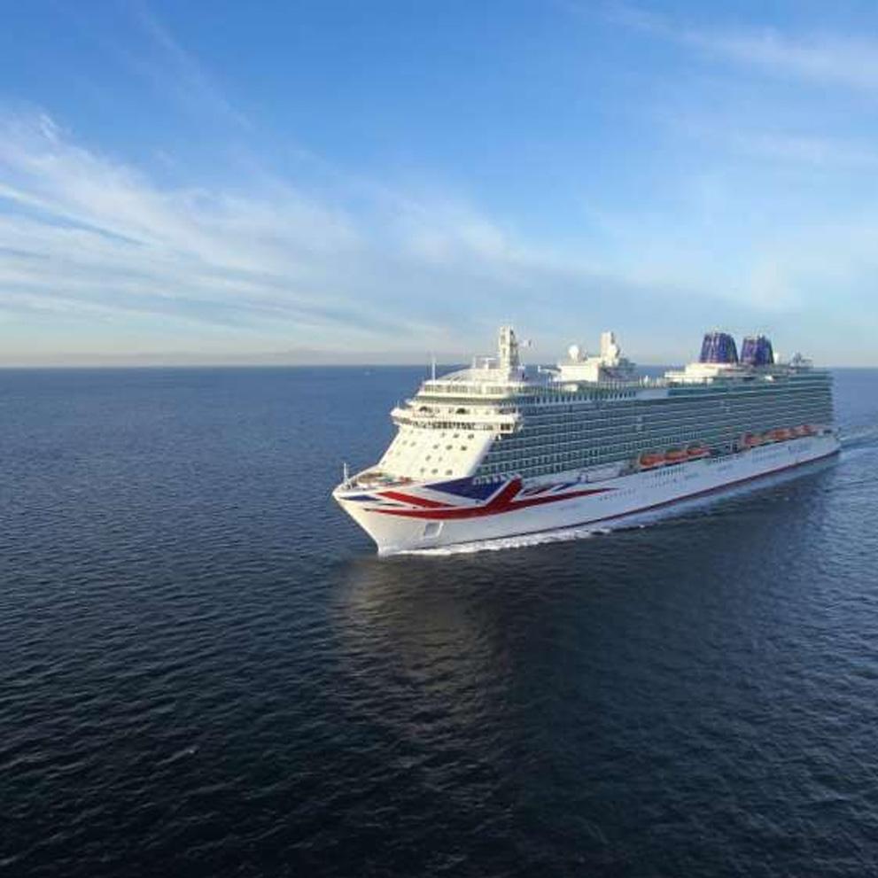 Increasing online bookings for P&O Cruises logo