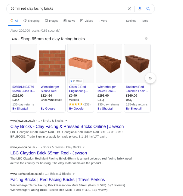 search results for bricks