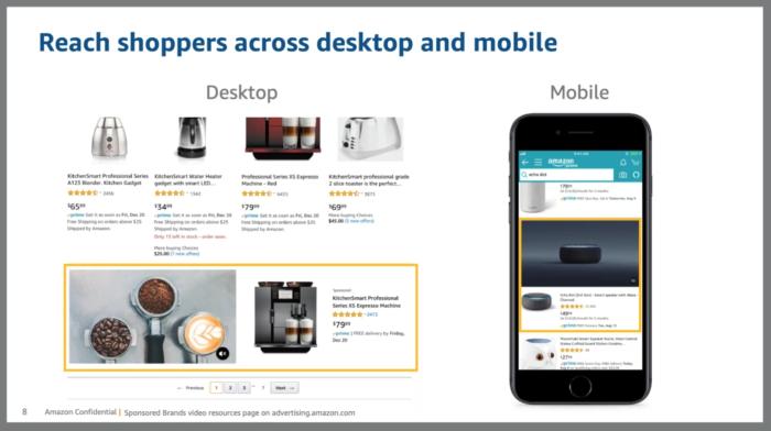 Amazon Sponsored Brands Videos Devices