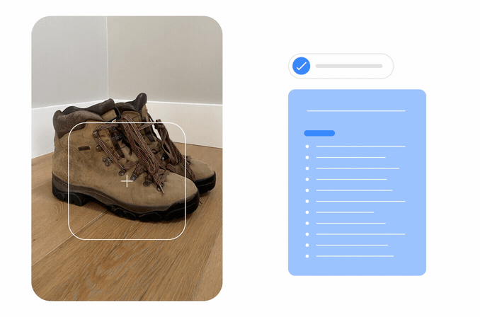 Photo of walking boots that Google's new technology MUM may be able to analyse