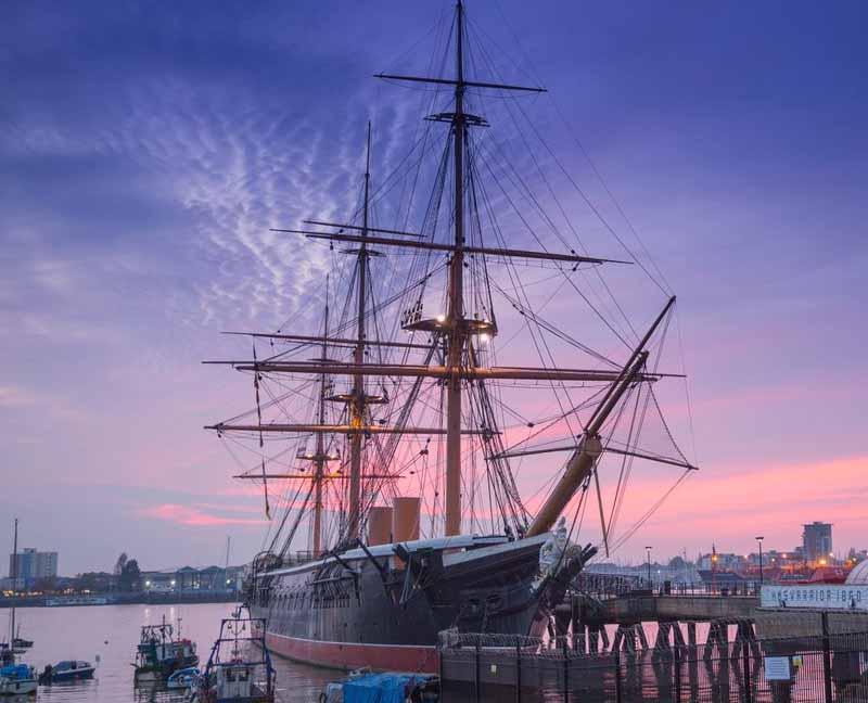 National Museum Royal Navy - Warrior Ship