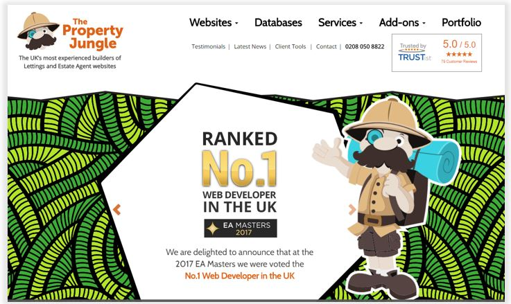 Property Jungle homepage